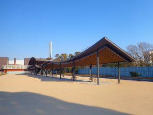 夢の島公園アーチェリー会場施設1